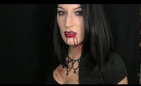 Sexy Vampire Halloween 2015 Makeup Tutorial