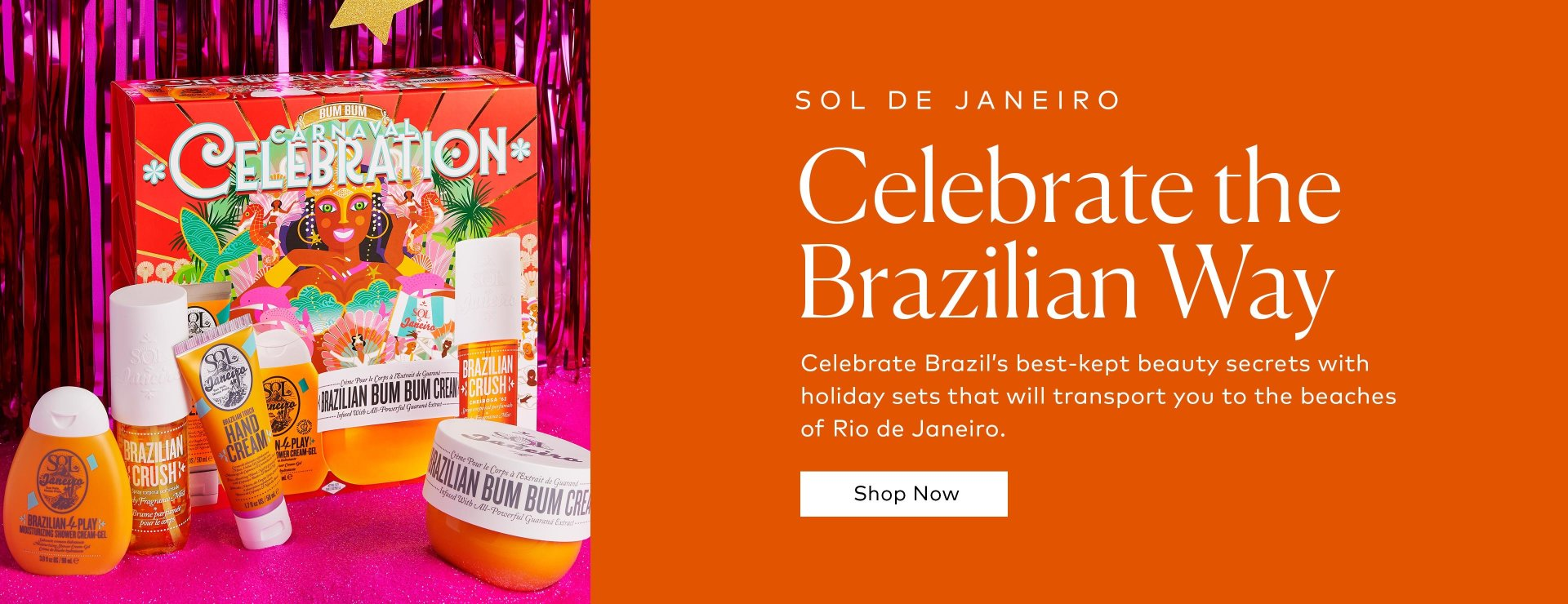 Shop Sol De Janeiro's Holiday Sets on Beautylish.com