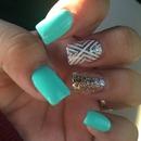Got my nails done by Kristine  💅❤️😍😊