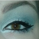 Silver eye with urban decay vice 2 palette