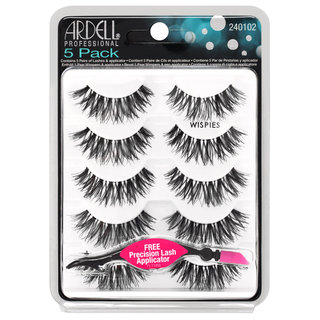 5 Pack Wispies Black