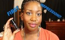 Maybelline Fit Me Shine Free Foundation ::First Impression + Application::