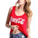 """Coca Cola"" Red Sleeveless Shirt"
