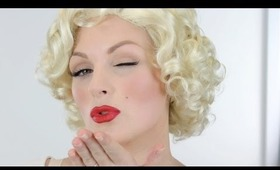 Marilyn Monroe 1950s Make up Tutorial