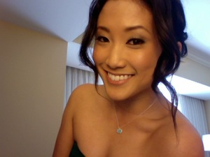 Have my bridesmaid hair + makeup all ready! You can't see but my dress is teal with a blush sash! (makeup: Jane Kim)