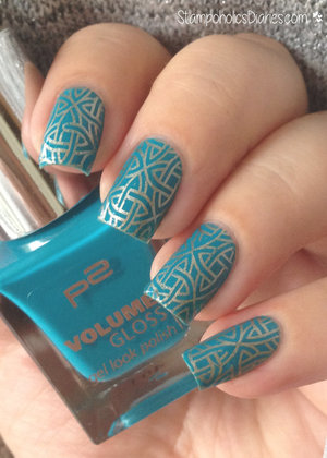 http://stampoholicsdiaries.com/2015/04/26/ornaments-with-p2-essie-and-mj-xxxiv/