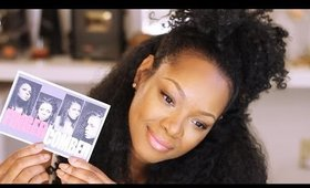 REALISTIC Synthetic Natural Hair Review w/Fingercomber's Honey Comber Unit!