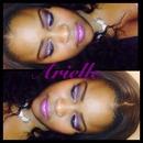 Purple Glitz & Glam