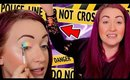 I Tried a MURDER MAKEUP LINE- and It was a MESS omg