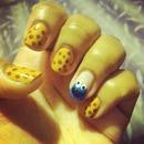 Cookie Monster & cookies