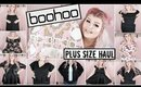 HUGE Boohoo Plus Size Try On Haul | Spring 2019