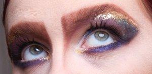 multi color eye