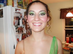 My cousin Theresa as Tinkerbell
