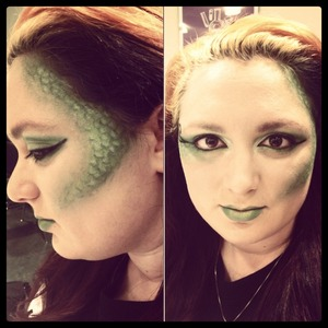 Make up I did for a contest at school