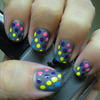 Matte Colorful Dots