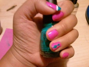 first time experimenting. ;-P