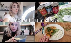 WHAT I EAT IN 2 DAYS!