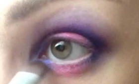 Pink and Purple Spring Eye Makeup Tutorial