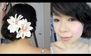 2-in1 Hair Tutorial: Simple Side Knot Updo & Casual