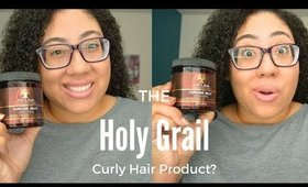 Holy Grail Curly Hair Product? As I Am Curling Jelly