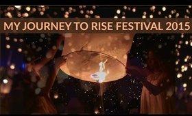 MY JOURNEY TO RISE FESTIVAL 2015 MOJAVE DESERT