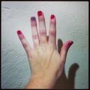 Holiday manicure