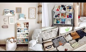 Toddler Room Tour & Organization | Easter Egg Hunt | Charmaine Dulak