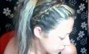 quick beach hair tutorial(μαλλια για παραλία)