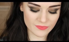 Brown Smokey Eyes Makeup Tutorial