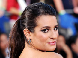 "Lea Michele at the ""Glee: The 3-D Concert Movie"" Premiere"