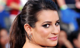 """Lea Michele at the """"Glee: The 3-D Concert Movie"""" Premiere"""
