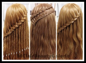 The 3 in 1 Lace Braid: 1 braid with 3 different styles, worth to try! LOL :)