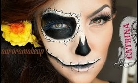 CATRINA SENCILLA tutorial de maquillaje