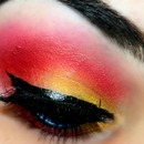 Sunset Make Up Look