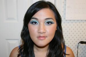 Hawaiian Whimsical Makeup