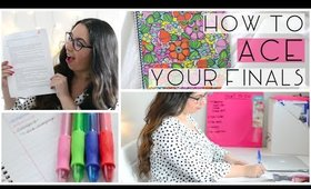 How to ACE Your Finals ♡ 5 Useful Tips!
