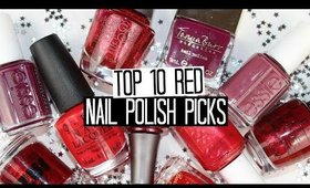 Top 10 Red Nail Polish Picks