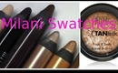 NEW Milani Shadow Eyez Swatches & Baked Bronzers + GIVEAWAY AGAIN!
