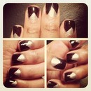 Triangle French Tips