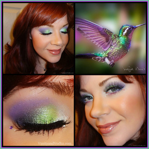 For more information on all of the products used to create this look, please visit: http://www.vanityandvodka.com/2013/11/hummingbird.html  xoxo, Colleen :-)