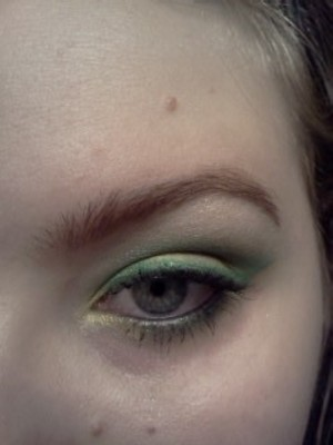 Green and yellow.