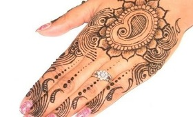 How to Make Henna Mehendi Design :  Mordern Henna Art