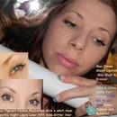 Classic Gold glitter eyeliner Cateye!