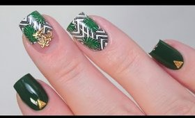 HOW TO: DARK TROPICAL NAILS