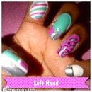 Nails LAST WEEK (Left Hand)