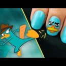 Perry the Platypus nails!!!
