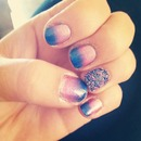 nail gradient and microbeads