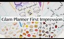 Glam Planner First Impression