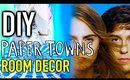 DIY Room Decorations Paper Towns Inspired!