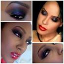 Aaliyah Inspired Smokey Purple
